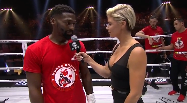 GLORY 53: Cedric Doumbé In-Ring Interview