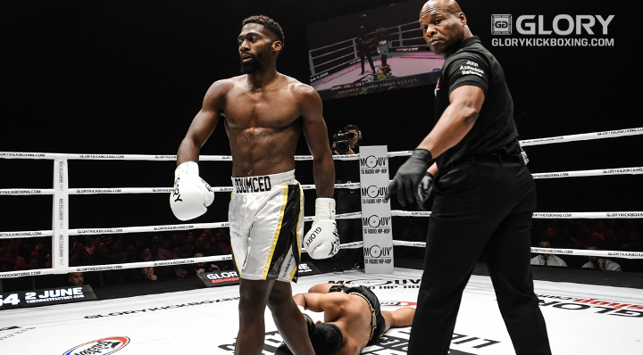 Knockout win puts Doumbé into title contention