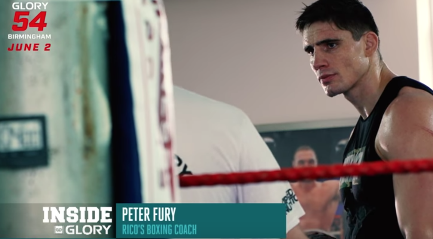 GLORY 54: Rico Verhoeven enlist help from renowned boxing trainer Peter Fury
