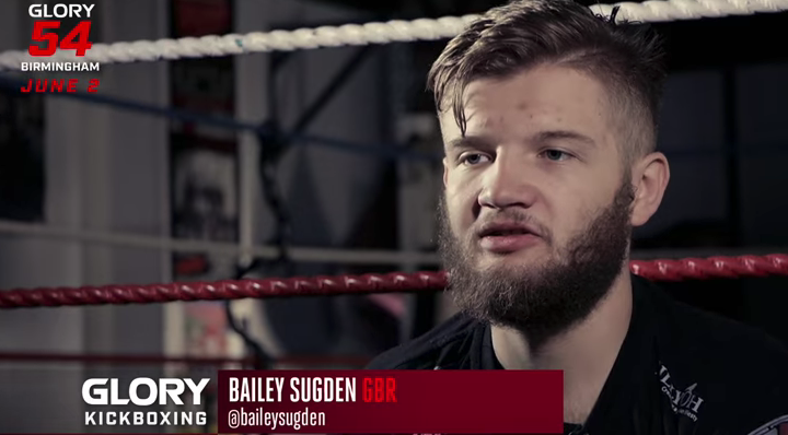 GLORY 54: Bailey Sugden strives to be poster boy for UK kickboxing scene