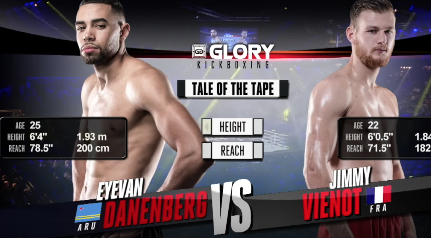 GLORY 51: Eyevan Danenberg vs. Jimmy Vienot (Tournament Semi-finals) - FULL FIGHT