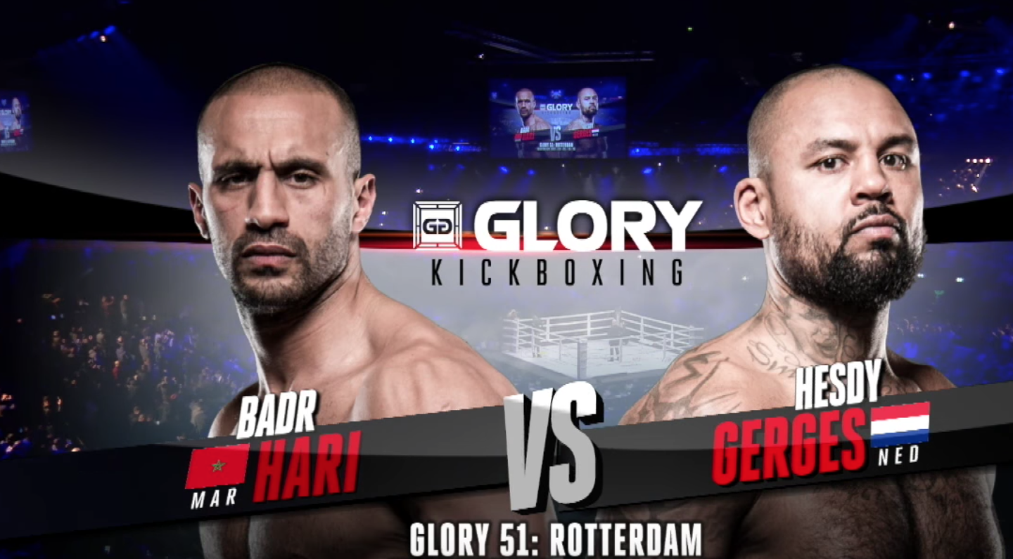 GLORY 51: Badr Hari vs. Hesdy Gerges - FULL FIGHT