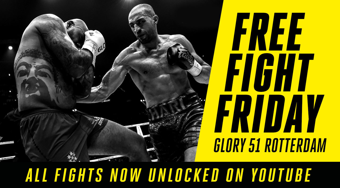 Free Fight Friday: GLORY 51 Rotterdam Fights Unlocked