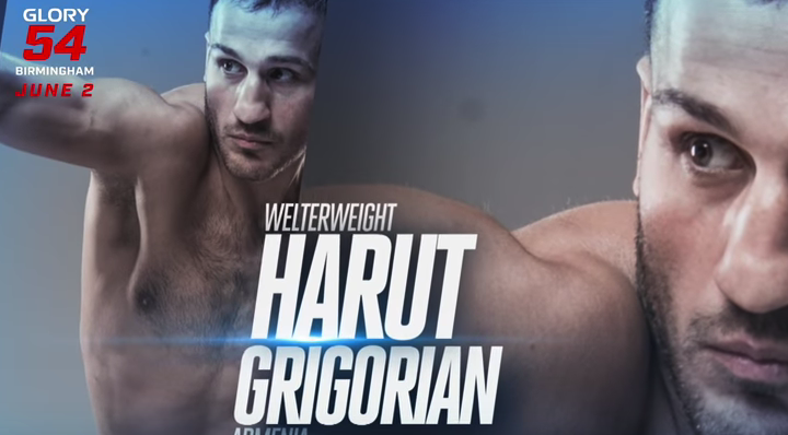 GLORY 54: Get to know welterweight champion Harut Grigorian
