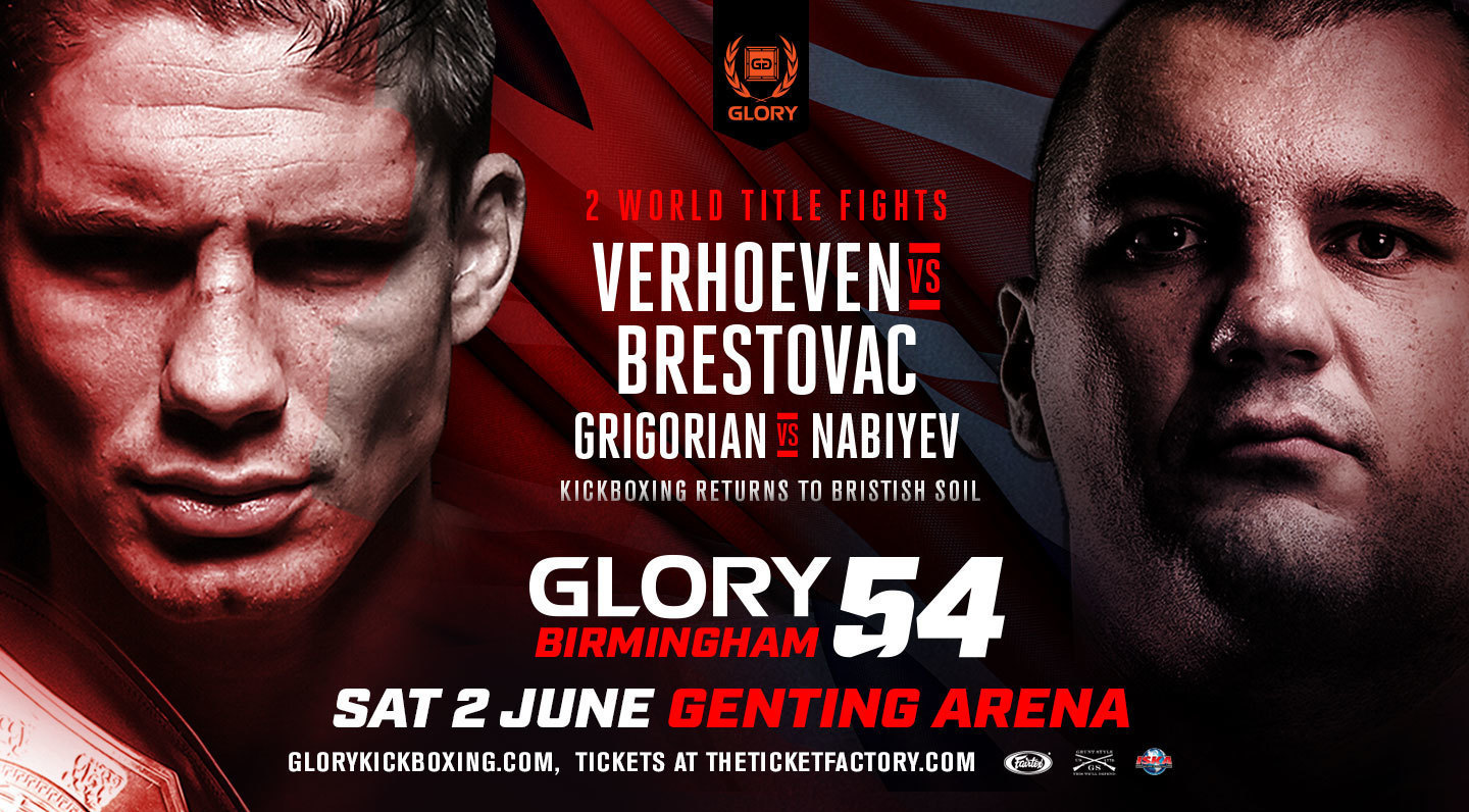 GLORY 54 Birmingham to Air on ESPNews This Saturday