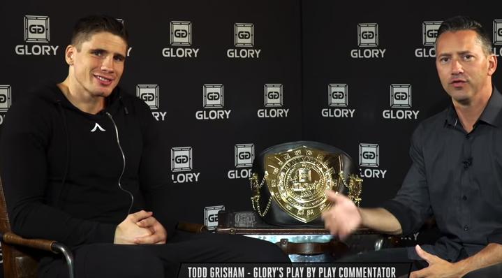 Rico Verhoeven sit down interview w/ Todd Grisham - GLORY 54