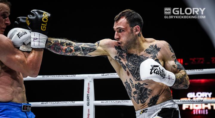 GLORY 54 Welterweight Tournament: Bates, Timms Advance to Final