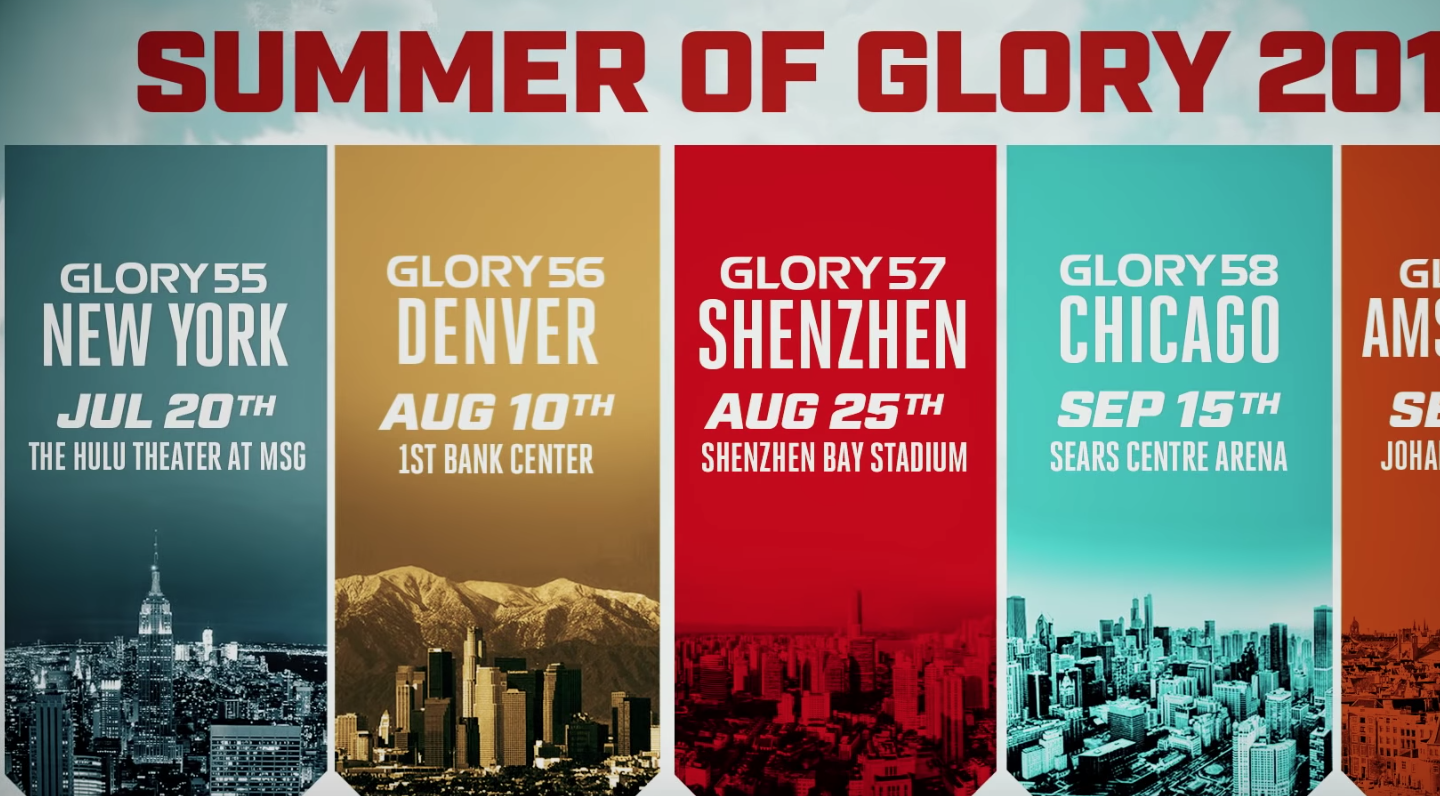 Summer of GLORY: 2018
