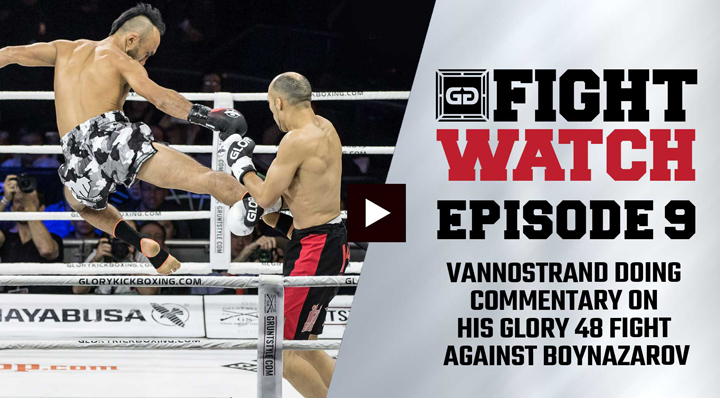 Kevin VanNostrand vs. Anvar Boynazarov (GLORY 48) | Fight Watch