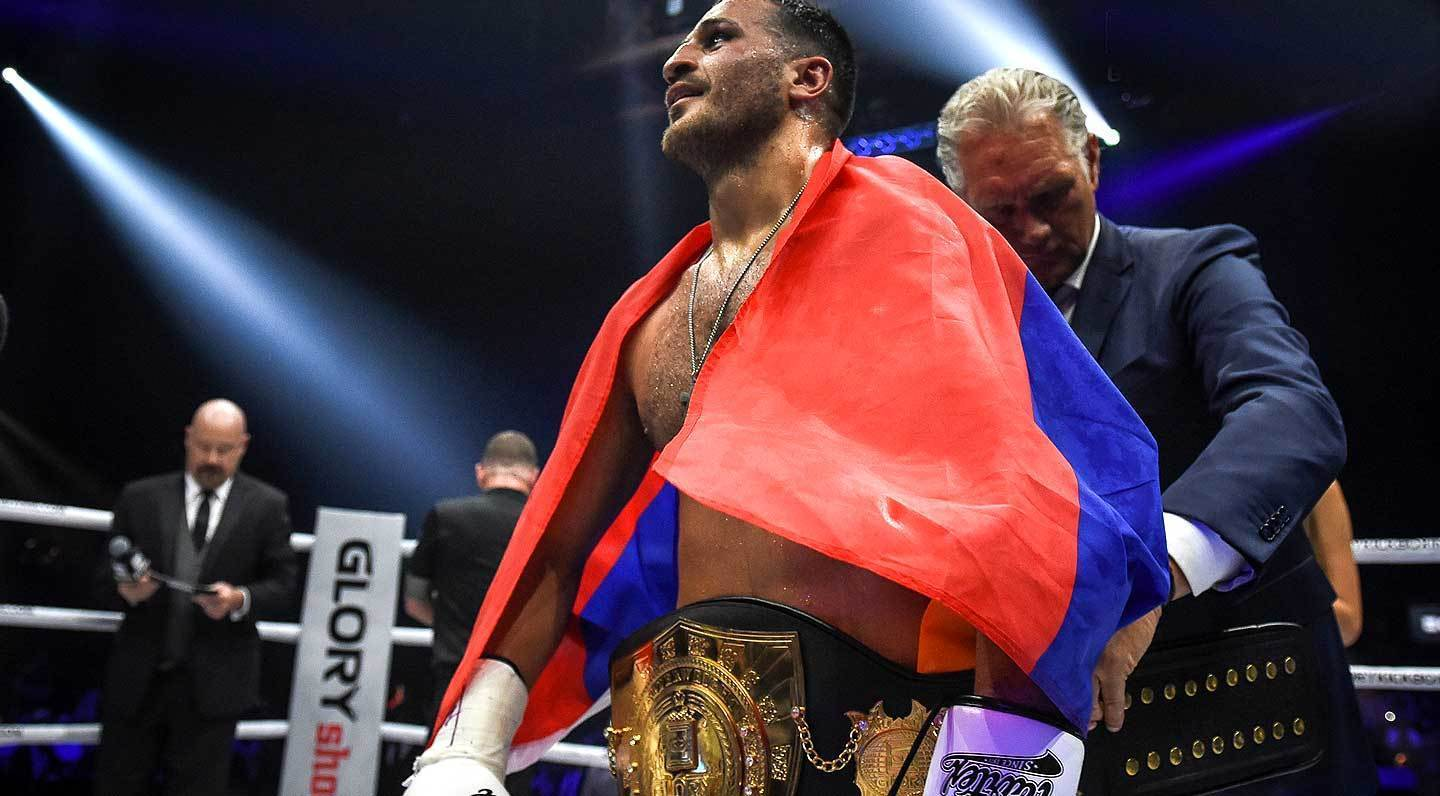 Grigorian wins GLORY 54 performance award