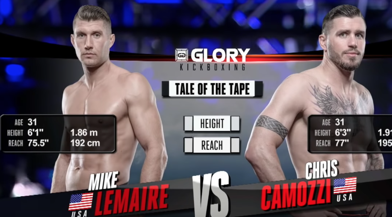GLORY 52: Chris Camozzi vs Mike Lemaire-Full Fight