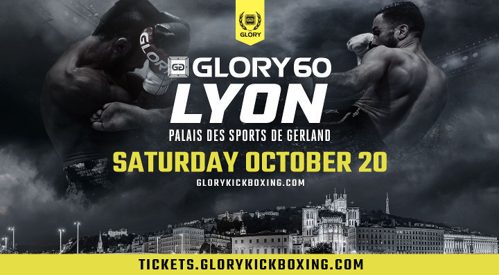 GLORY 60 Lyon Scheduled for Saturday, Oct. 20