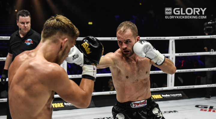 Undefeated Gashi Aims for Title Contention at GLORY 55