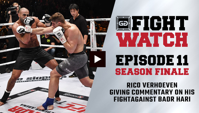 Rico Verhoeven vs Badr Hari (GLORY Collision) | Fight Watch