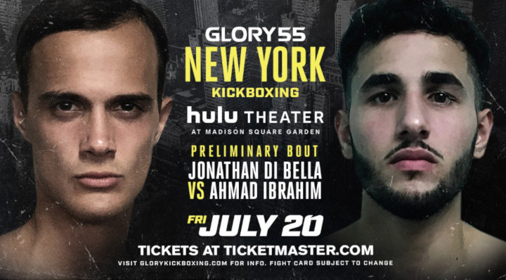 GLORY 55 Preliminary Card Kicks Off Fight Night in New York City on Friday, July 20