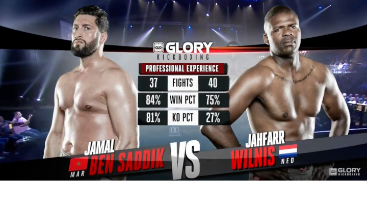 GLORY 53: Jamal Ben Saddik vs. Jahfarr Wilnis- Full Fight