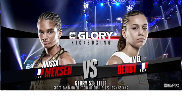 GLORY 53: Anissa Meksen vs. Amel Dehby- Full Fight
