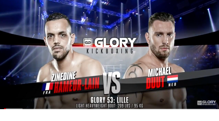 GLORY 53: Zinedine Hameur-Lain vs. Michael Duut- Full Fight
