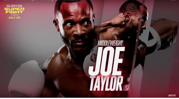 GLORY 55: Joe Taylor is Ready for His Moment