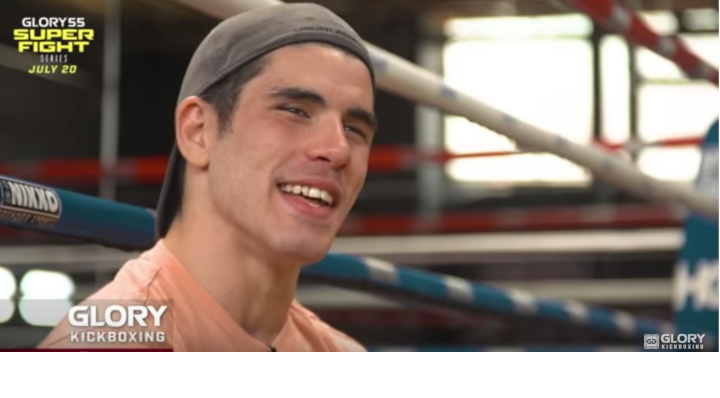 GLORY 55: Alan Scheinson Gets Ready for Cedric Doumbe
