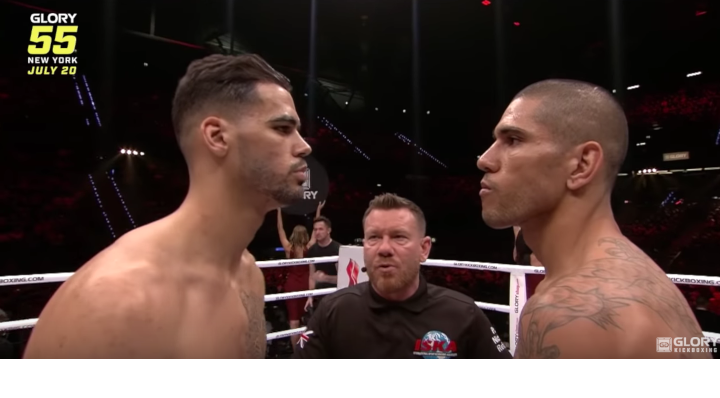 GLORY 55: Alex Pereira vs. Yousri Belgaroui Preview