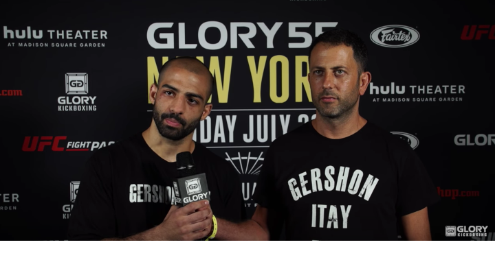 Gershon calls out Josh Jauncey following TKO win at GLORY 55 NEW YORK
