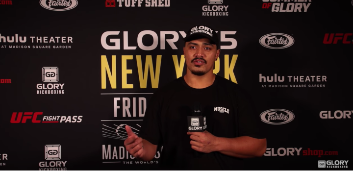 Junior Tafa wants top five opponent following TKO win at GLORY 55