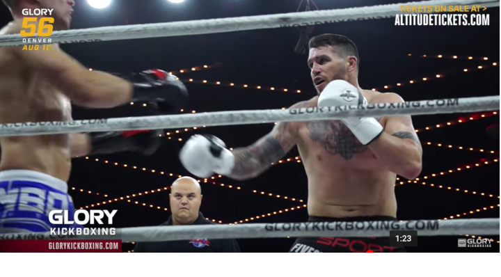 GLORY 56: Chris Camozzi Looks to Take Care of Business