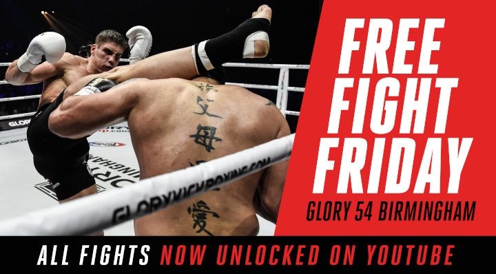 Free Fight Friday: GLORY 54 Fights Unlocked