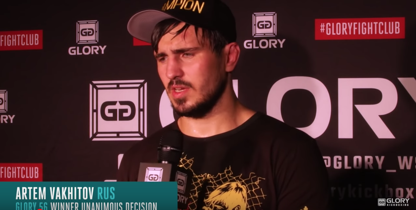 Artem Vakhitov Gives Respect to Danyo Ilunga After 5 Round War