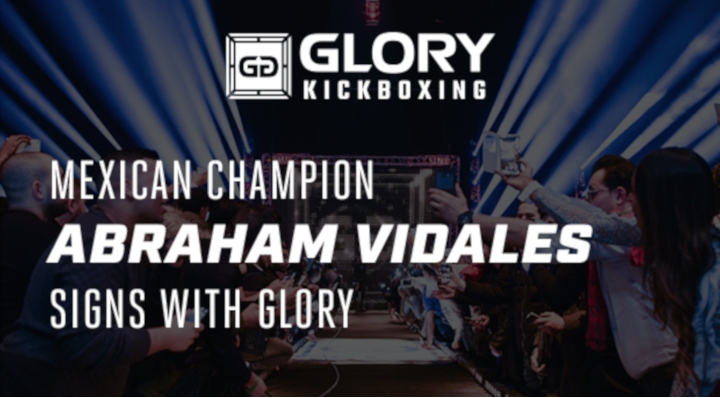 Mexican champion Abraham Vidales signs with GLORY