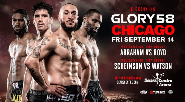 Local Favorites Richard Abraham and Malik Watson-Smith Join Welterweight-Heavy Fight Card at GLORY 58 Chicago