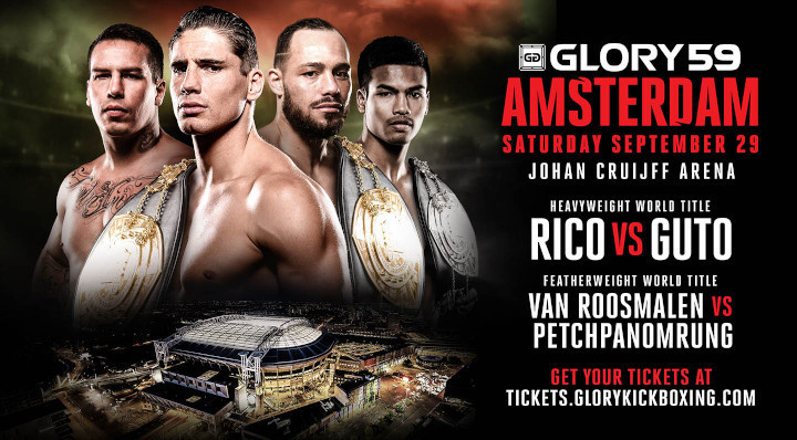 Rico Verhoeven Seeks Record Eighth Title Defense Against Dangerous Challenger Guto Inocente at GLORY 59