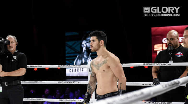 Two changes to GLORY 58 CHICAGO card