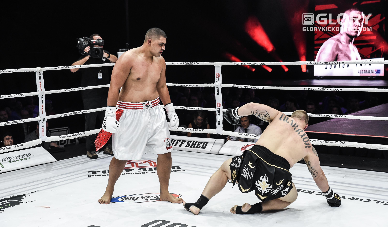 Tafa demolishes Wilson in first round