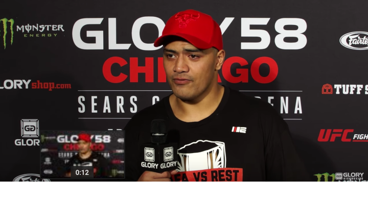 Junior Tafa calls out Catalin Morosanu after GLORY 58 win