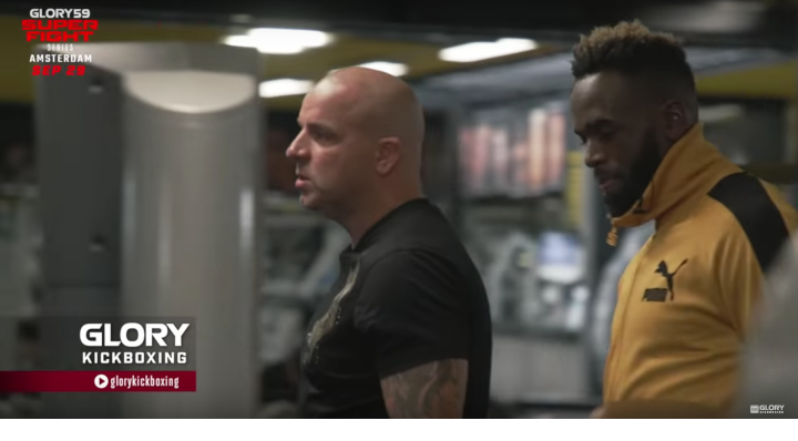 Culture Clash! Pro footballer Andy van der Meyde visits Mike's Gym