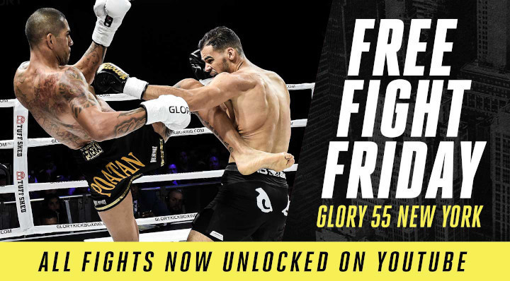 Free Fight Friday: GLORY 55 Fights Unlocked