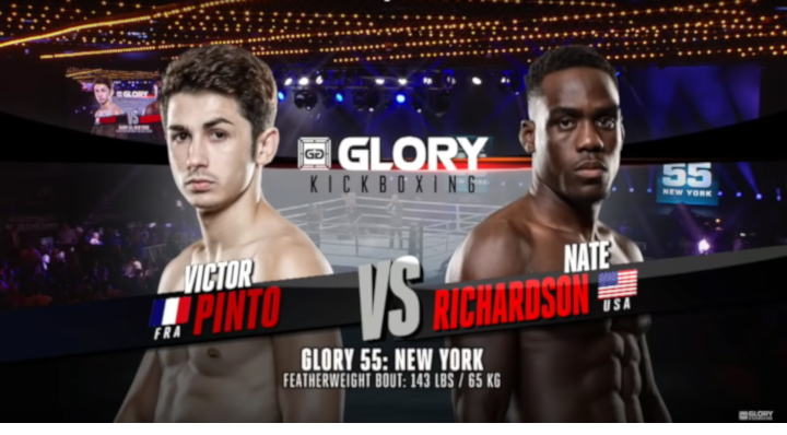GLORY 55: Victor Pinto vs Nate Richardson - Full Fight