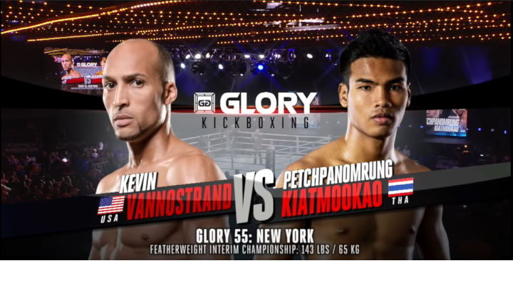 GLORY 55: Petchpanomrung vs Kevin VanNostrand - Full Fight