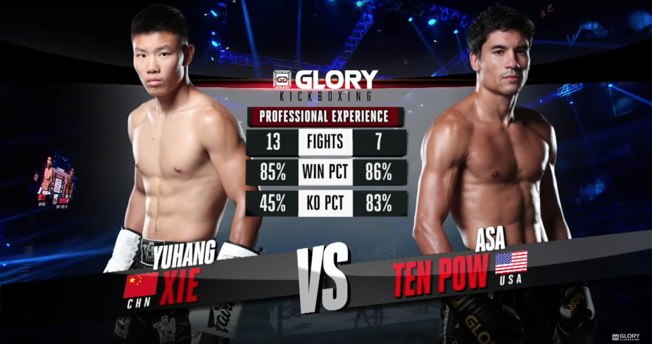 GLORY 57: Asa Ten Pow vs. Yuhang Xie - Full Fight