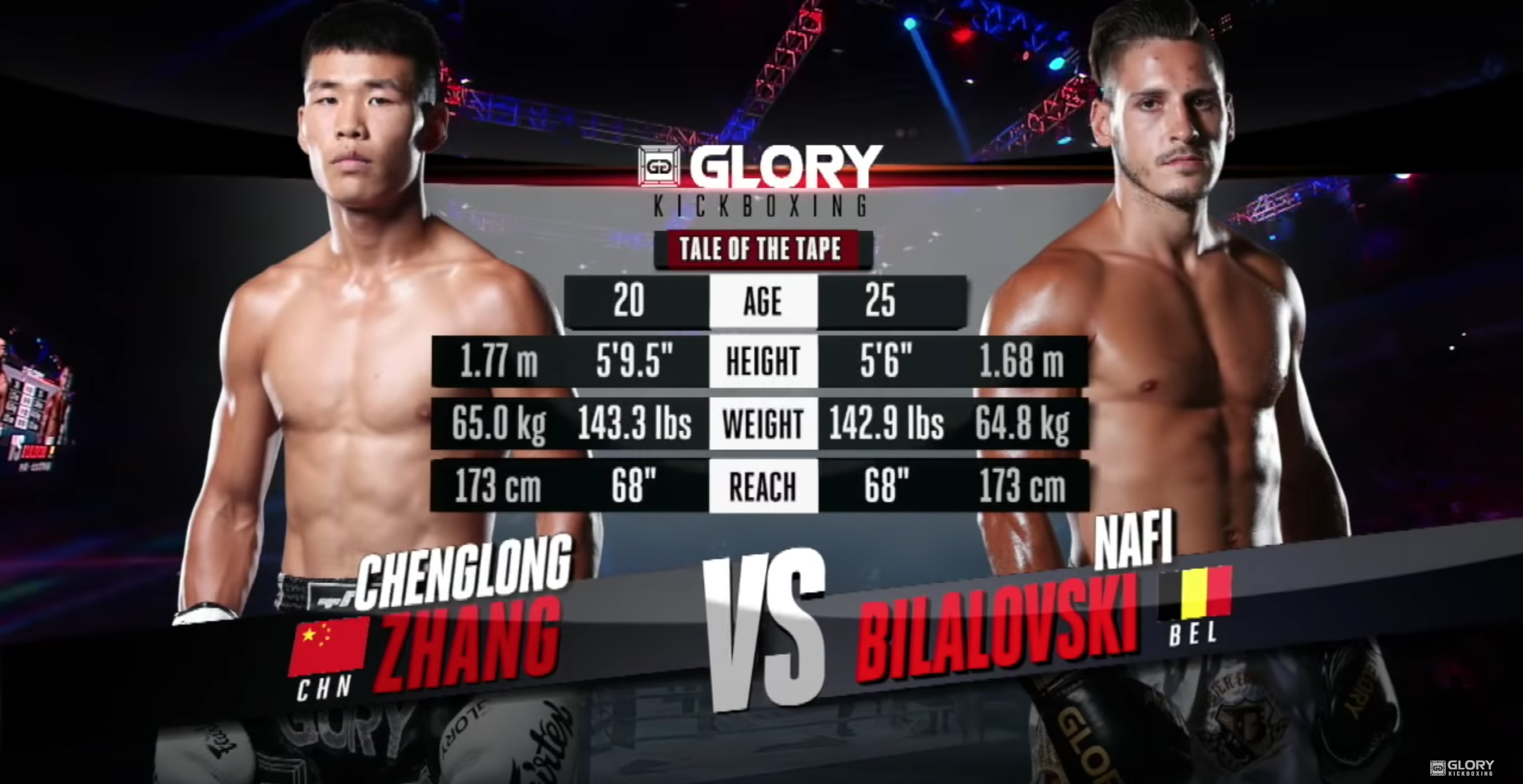 GLORY 57: Chenlong Zhang vs. Nafi Bilalovski - Full Fight
