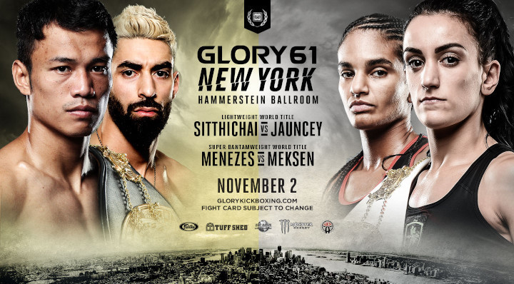 GLORY 61 NEW YORK, GLORY 61 SUPERFIGHT SERIES AND GLORY 61 PRELIMS WEIGH-IN RESULTS, VIDEO, PHOTOS
