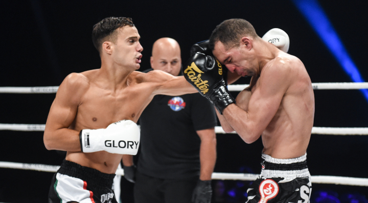 GLORY 61 Preliminary Card Recap: Only one of four fights goes the distance