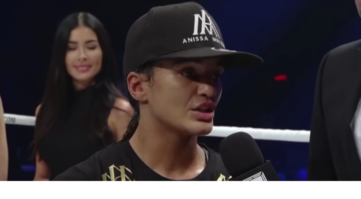 GLORY 61: Anissa Meksen Post Fight Interview