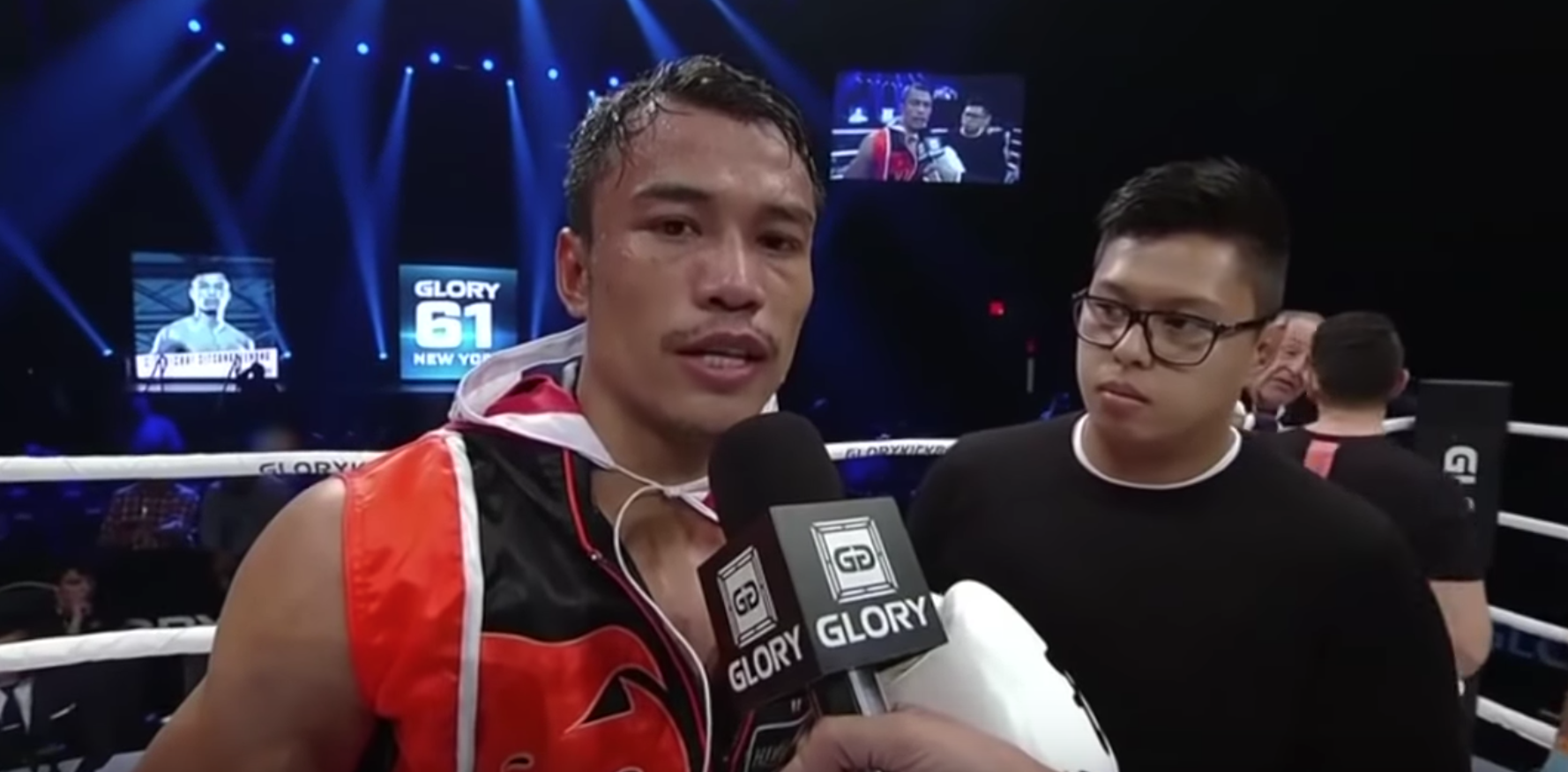 GLORY 61: Sitthichai Post Fight Interview