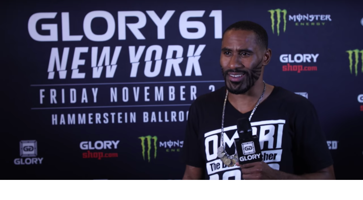 "Undefeated in GLORY, Omari Boyd calls for ""Europeans and fake champions"" next"