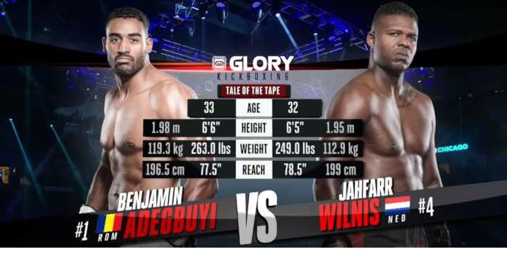 GLORY 58: Benjamin Adegbuyi vs Jahfarr Wilnis - Full Fight