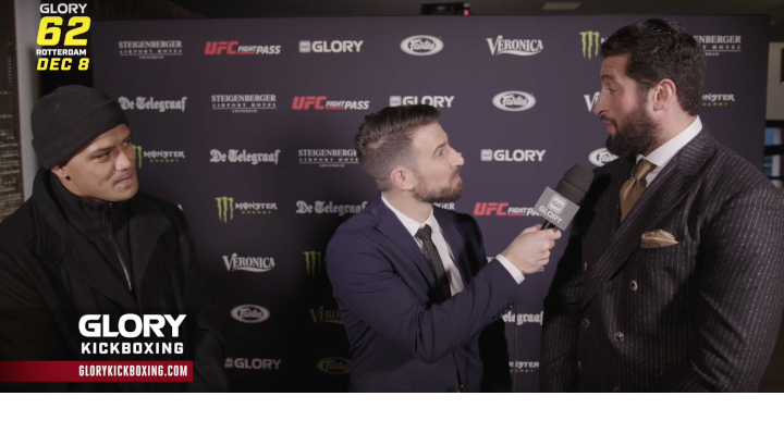 GLORY 62: Jamal Ben Saddik and Junior Tafa Pre-Fight Interview