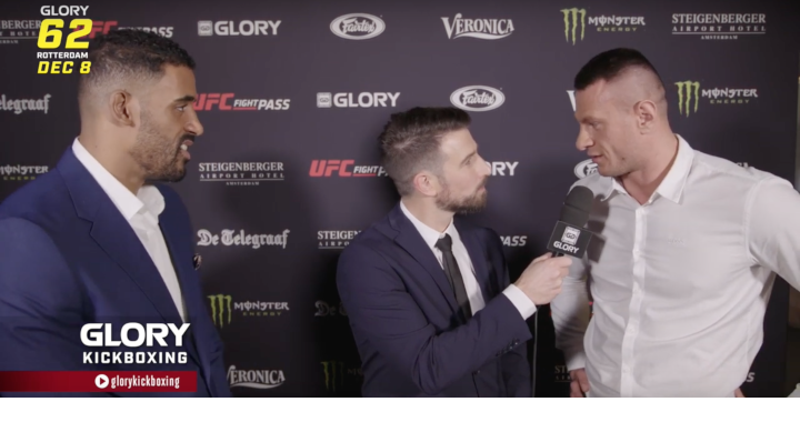 GLORY 62: Benjamin Adegbuyi and Arkadiusz Wrzosek Pre-Fight Interview